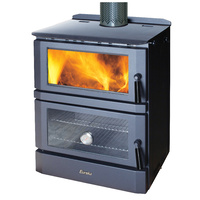 Eureka Cooker Discovery Series Freestanding Wood Heater