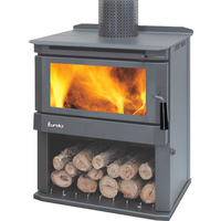 Eureka Woodstock Discovery Series Freestanding Wood Heater