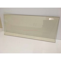 Door Glass 583mm x 303mm Cut To Size Wood Heater