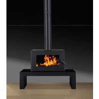 Blaze B605 Freestanding Wood Heater with Remote Control Fan