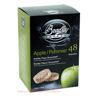 Bradley Smoker Bisquettes 48 Pack Apple
