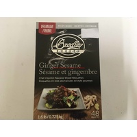Bradley Premium Smoker Bisquettes 48 Pack Ginger Sesame