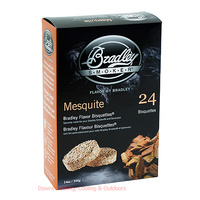 Bradley Smoker Bisquettes 24 Pack Mesquite