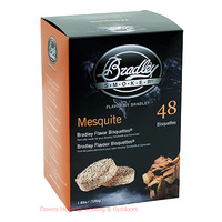 Bradley Smoker Bisquettes 48 Pack Mesquite