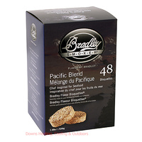 Bradley Smoker Bisquettes 48 Pack Pacific Blend