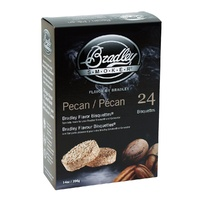 Bradley Smoker Bisquettes 24 Pack Pecan