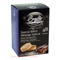 Bradley Smoker Bisquettes 48 Pack Special Blend