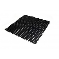 Oztrail Foam Floor Mat - Black (4 Pack)