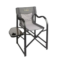 Directors Vista Chair with Side Table - Oztrail