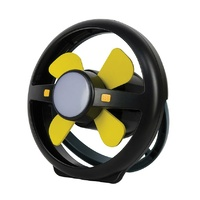 Portable Fan & Light Rechargeable - Oztrail