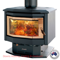 Jindara Duplicity Dual Door Range Pedestal Freestanding Double Sided Wood Heater