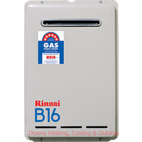 Rinnai B16 Builders Model Gas Hot Water