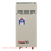 Rinnai Hotflo 10 Gas Hot Water 60 degree