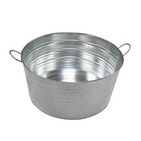 Galvanised Jumbo Tub 64L