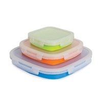 Pop Up Food Containers Medium - Large - 3 Pack
