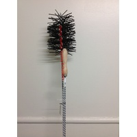 Flue Brush - Wire Handle 12ft x 4inch