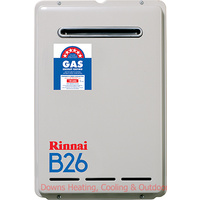 Rinnai B26 Builders Model Gas Hot Water
